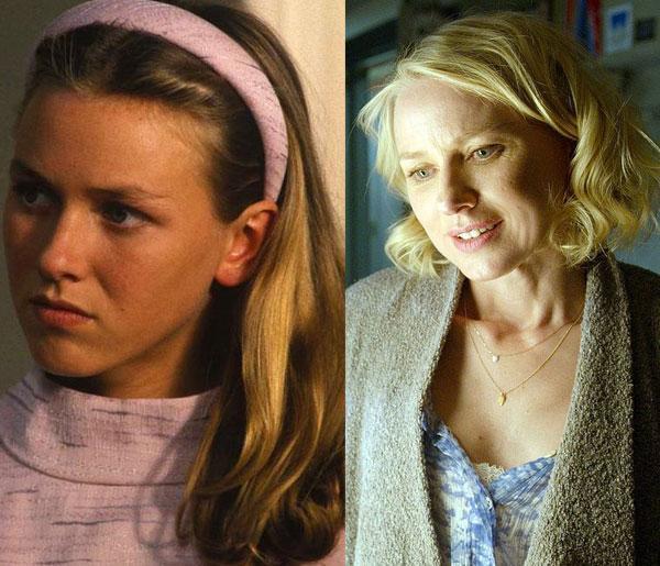 Naomi Watts, 1986'da 18'indeyken For Love Alone filminde yer almıştı. 46 yaşında son filmi Birdman'de izleme fırsatı bulacağız.
