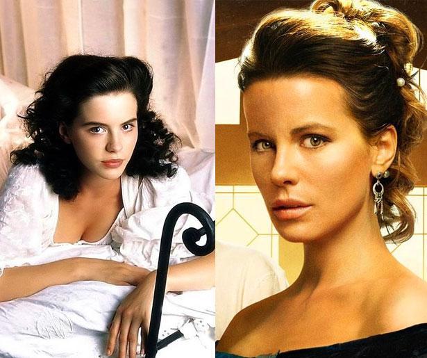 Kate Beckinsale 1993 yapımı Much Ado About Nothing adlı filmde 20 yaşındaydı. Son filmi Eliza Graves'te 41 yaşında.
