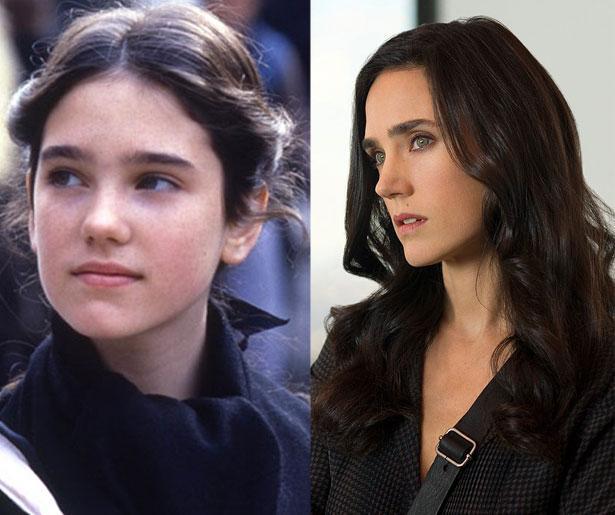 Jennifer Connelly 1984 yapımı Bir Zamanlar Amerika'da filminde 14 yaşındaydı. Son filmi Winter's Tale'de 44 yaşında.
