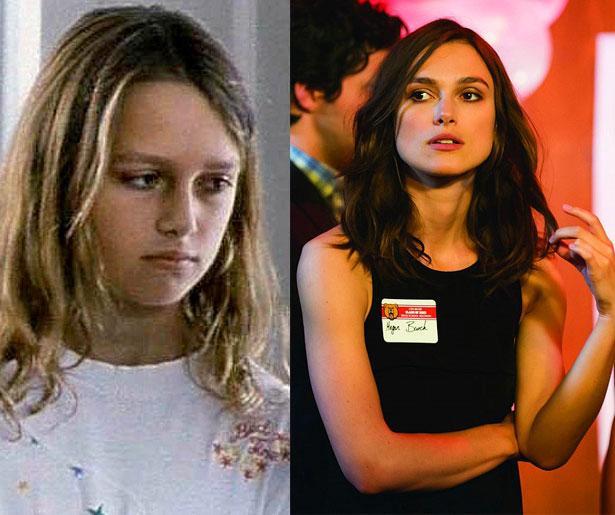 Keira Knightley 10 yaşındayken 1995 yapımı A Village Affair filminde oynamıştı. Vizyona girecek Laggies filminde 29 yaşında.