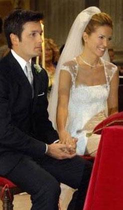 Burcu Esmersoy da İtalyan Massimo Cusimona ile evlendi.