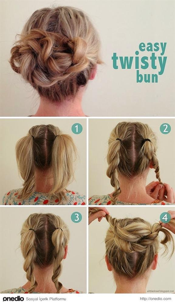 Tembel Kadınların Yapabileceği 16 Saç Modeli - 1