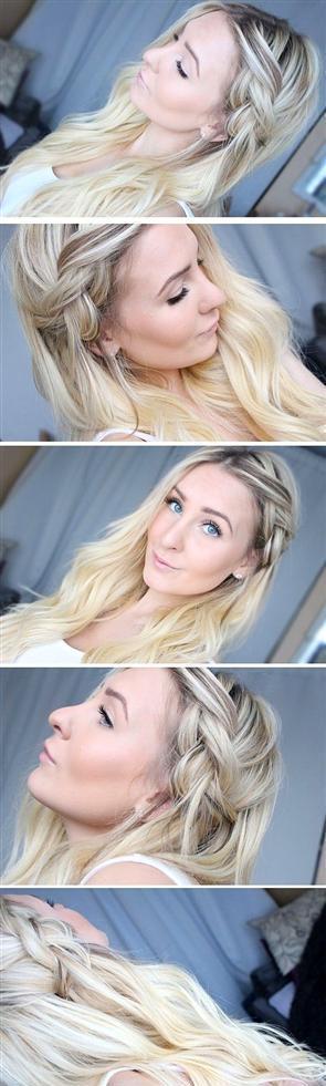 Tembel Kadınların Yapabileceği 16 Saç Modeli - 12