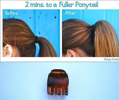 Tembel Kadınların Yapabileceği 16 Saç Modeli - 26