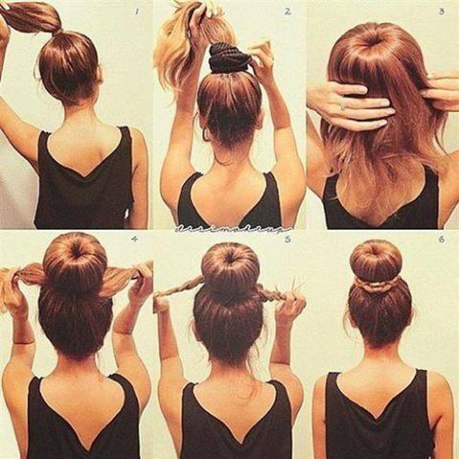 Tembel Kadınların Yapabileceği 16 Saç Modeli - 30