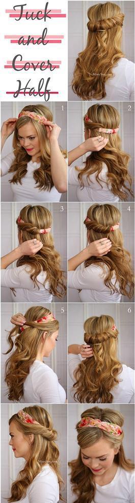 Tembel Kadınların Yapabileceği 16 Saç Modeli - 22