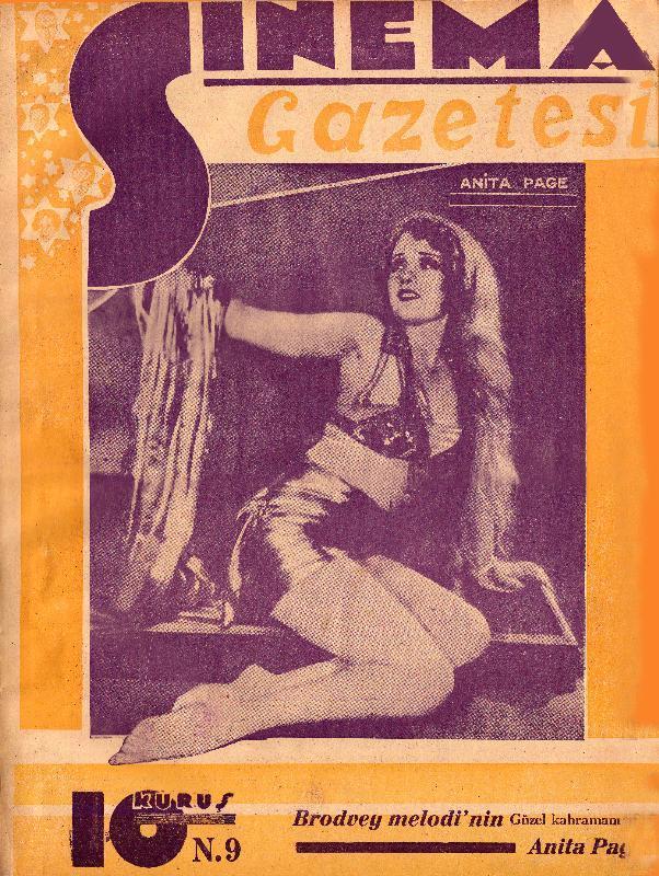 1929, Sinema Gazetesi