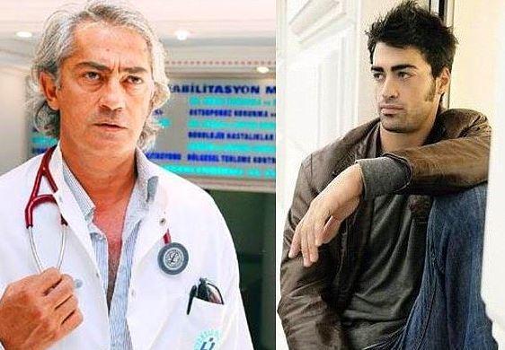 3. Sarp Levendoğlu - Mustafa Altıoklar  Yakışıklı aktör Sarp Levendoğlu, yönetmen Mustafa Altıoklar'ın yeğeni.