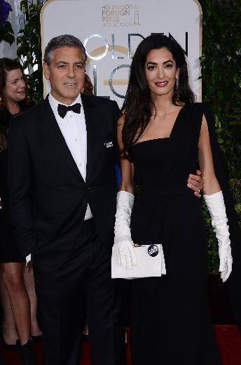 George Clooney ve Amal Alamuddin Clooney
