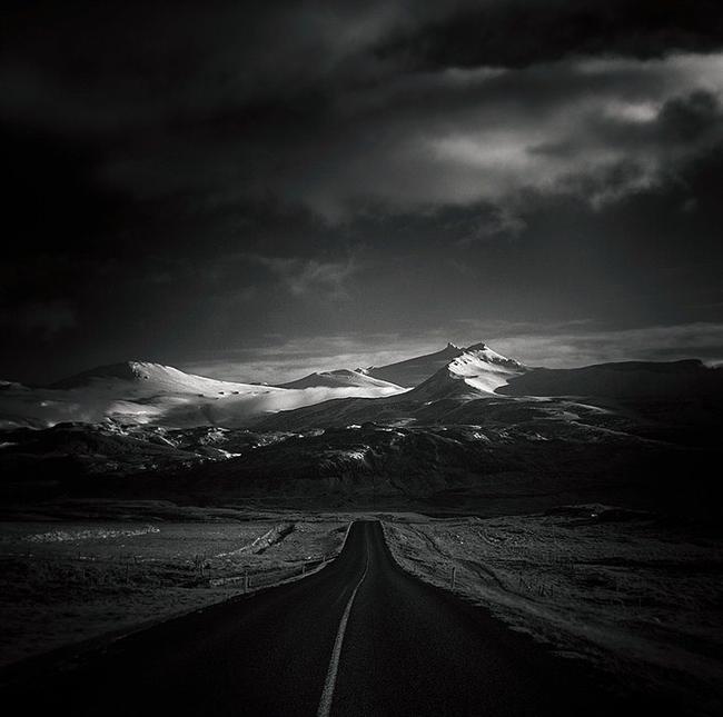 """11. Güneye Giden Yol """"2"""", İzlanda  Fotoğraf: Andy Lee"""