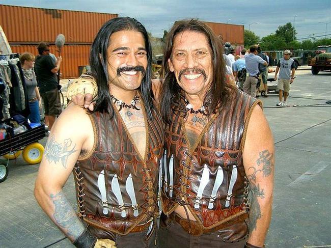 29. Danny Trejo ve İkiz Dublörü Norman Mora (Machete)