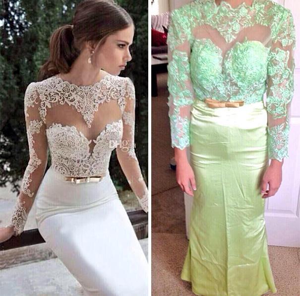 Hayatınızda bir kez giyeceğiniz elbise için aslında uçuk fiyatlar ödemenize gerek yok. Eski elbisenizden harika parçalar yaratabilir hatta gelinlik bile yapabilirsiniz. Nasıl mı? İşte örnekleri...