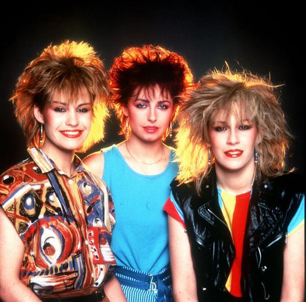Bananarama Cesur saçlar  Neyse ki aşırı dikenli saçlar, 80'lerin roketi Bananarama'dan bu yana yeniden trend olmadı.