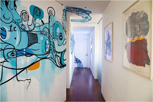 10. Ve tabii ki grafiti...  Evin duvarlarını boyamak yerine bunu deneyin, çok ekmeğini yersiniz.