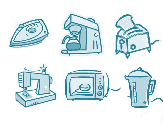 3- Artık kullanmadığınız elektrikli aletleri başkasına verebilir veya internetten satabilirsiniz. (Kurutma makinesi, tost makinesi, saç düzleştirici gibi)