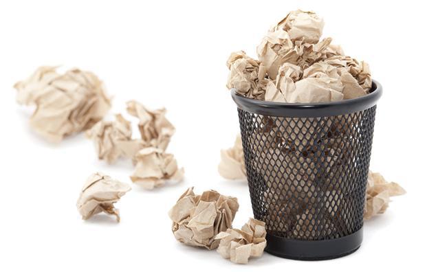 17- Makbuzlar! Eski zamandan kalan bütün makbuzlar derhal çöpe!