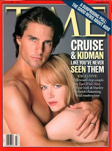 Tom Cruise ve Nicole Kidman, 1999'da Time dergisi için objektif karşısına geçti. Çift o sıralarda mutlu bir evlilik yürütüyordu. İki yıl sonra evliliklerini bitirdiler.