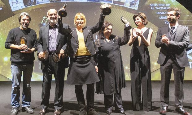Türk Sinemasının 'En İyi 10'ları' Ödüllendirildi - 4