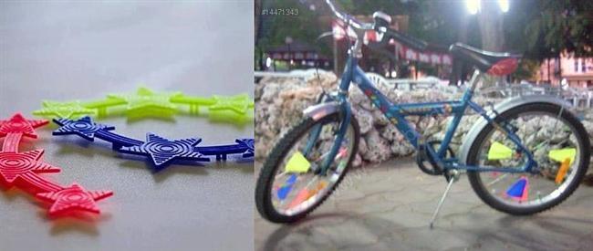 Rengarenk bisiklet paletleri