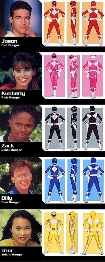 Power Rangers..