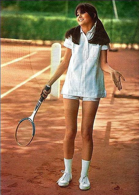 60'ların tenis kıyafeti