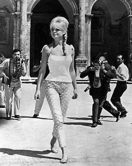 Bridget Bardot stili