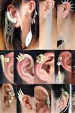 Ünlülerden Ear Cuff Modeller - 36
