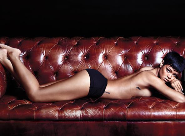 14. Rihanna sonrasında sansasyonel yaşantısını iş hayatına taşıdı ve kliplerindeki sahneler çok konuşuldu. Bazı kliplerine yasaklar getirildi. Uyuşturucu kullanımı ve erotik görüntülerin yer aldığı klipleriyle Rihanna pek çok ülkede yayıncıları zor durumda bıraktı.