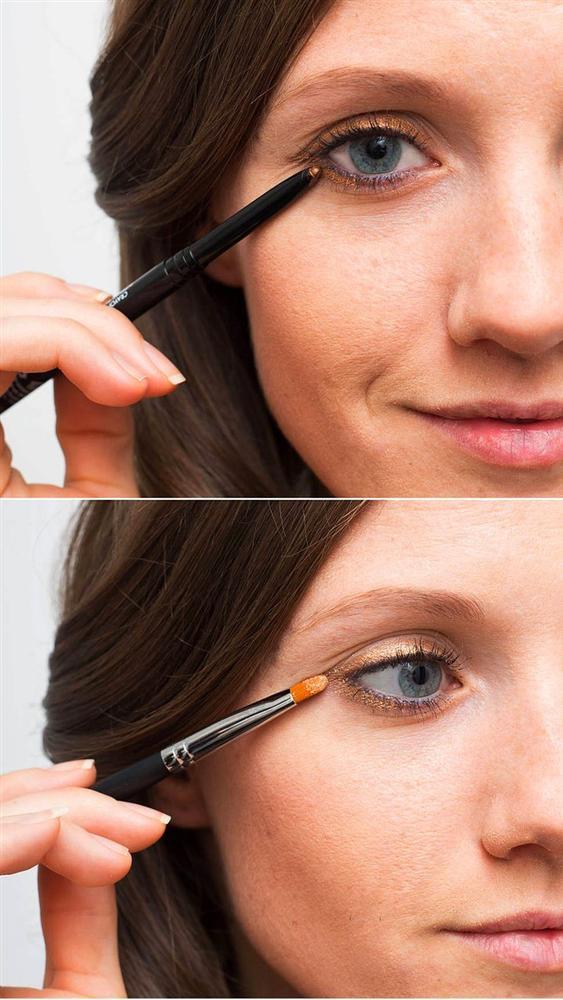 15. Dört dörtlük bir çizgiyi hala elde edemiyorsanız, kalem göz farıyla benzer bir görüntü yaratın.