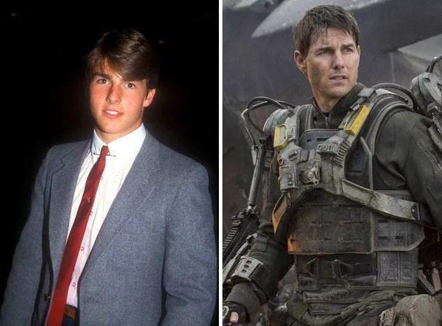11.  1981 yapımı Endless Love adlı ilk filminde 18 yaşında olan  Tom Cruise  şu an 52 yaşında ve son olarak Yarının Sınırında filmiyle beyaz perdedeydi.