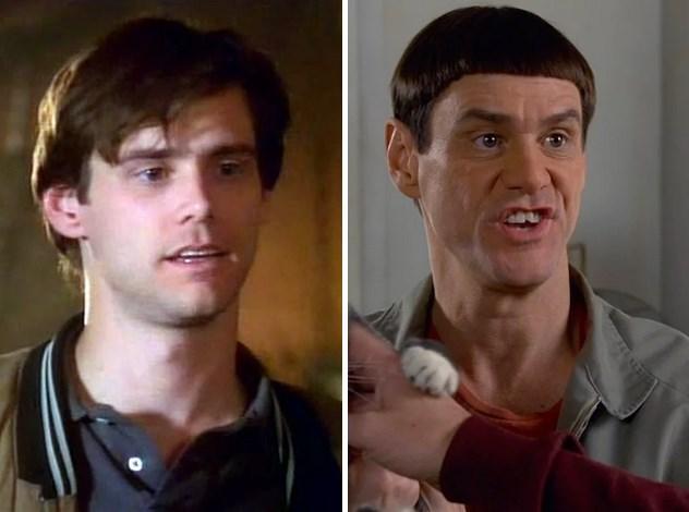 17. 1992'de Doing Time on Maple Drive ile ekranlardaki yerini aldığında Jim Carrey 30 yaşındaydı. Son filmi Salak ile Avanak Geri Dönüyor'da 52 yaşında.