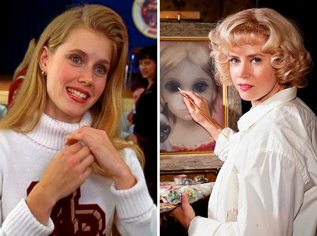 24. Amy Adams : 25 yaşında 1999 yapımı Drop Dead Gorgeous filminde oynamıştı ve şu an 40 yaşında. Son olarak Big Eyes filmiyle vizyonlarda.