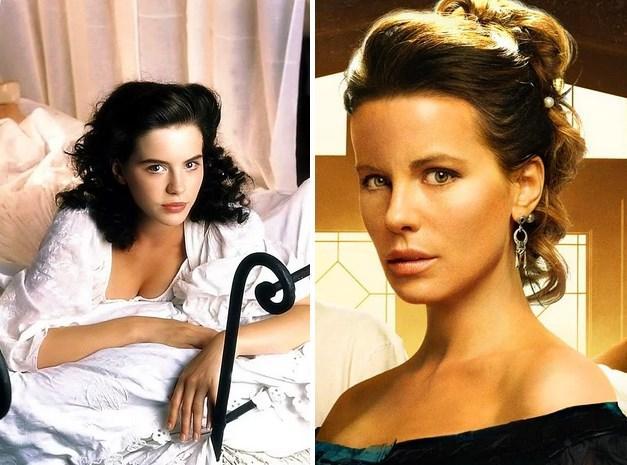 26. Kate Beckinsale:  1993 yapımı Much Ado About Nothing adlı filmde 20 yaşındaydı. Son filmi Eliza Graves'te 41 yaşında.