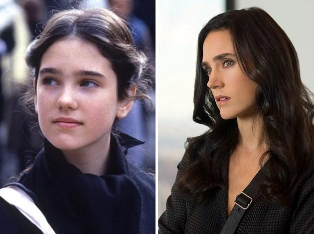 23. Jennifer Connelly: 1984 yapımı Bir Zamanlar Amerika'da filminde 14 yaşındaydı. Son filmi Winter's Tale'de 44 yaşında.