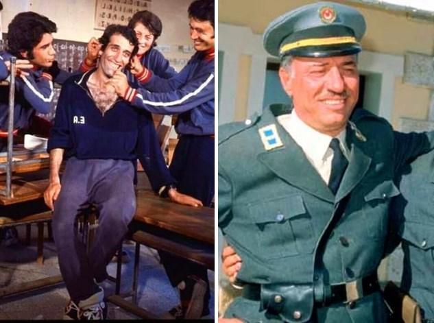 25. Kemal Sunal :   ilk olarak Tarık Akan ve Filiz Akın'ın başrolde olduğu 1972 yapımı Tatlı Dillim filminde izlemiştik. Bu filmde 28 yaşındaydı. Son filmi ise 1999 yapımı Propaganda'ydı ve 55 yaşındaydı.