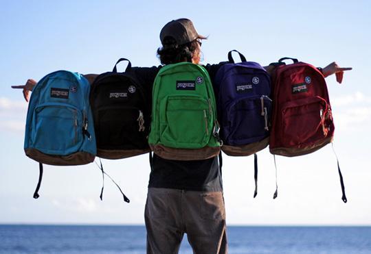 8. Jansport ya da Eastpak olmasına özen gösterdiğimiz sırt çantaları Jansport ya da Eastpak olmasına özen gösterdiğimiz sırt çantaları