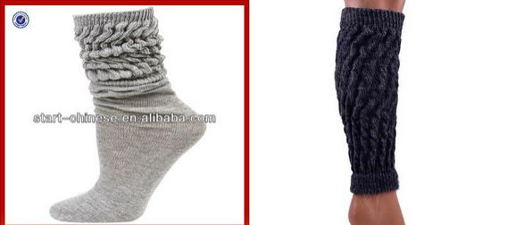 26. Büzünce şeklinden geçilmeyen lahana çoraplar