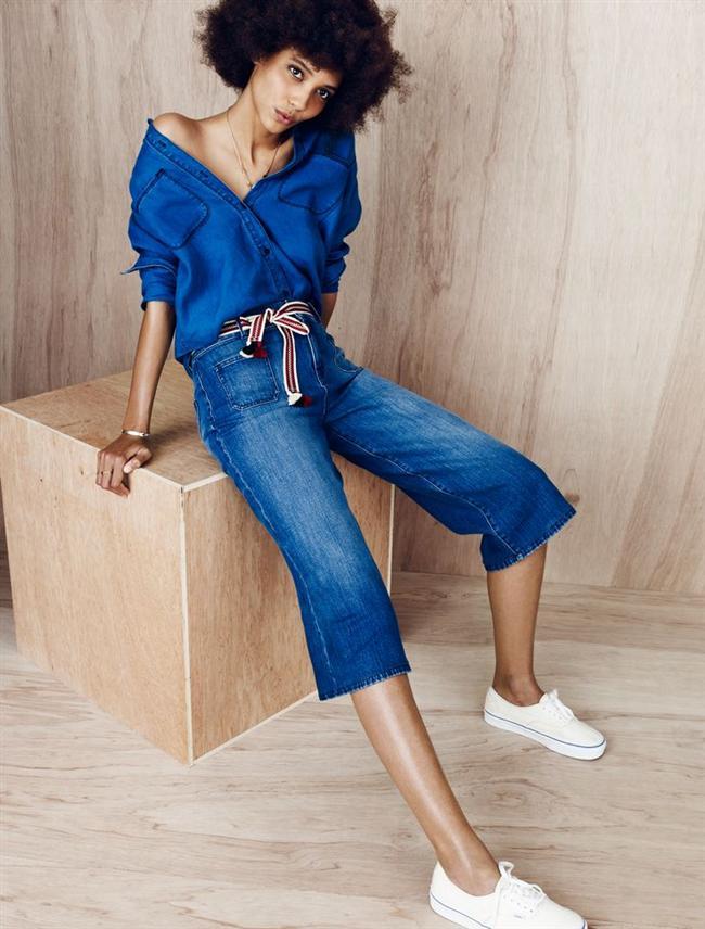 2015 İlkbahar/Yaz sezonunun öne çıkan trendlerinden etek pantolonlar klasik kesimleri rafa kaldırıyor.  Hazırlayan:Gülçin Çavdarcı