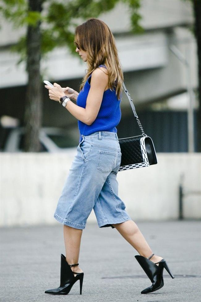 Farklı ve çarpıcı bir stil oluşturan culotte pantolonlar spor şıklığı ön plana çıkarıyor.