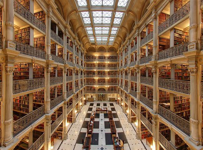 Baltimore George Peabody Kütüphanesi