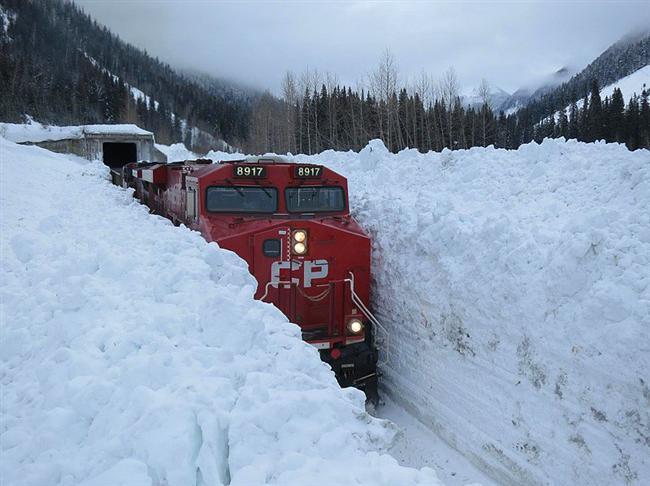 Kanada'da Kış
