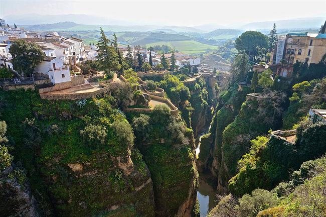 El Tajo Kanyonu, Ronda, İspanya