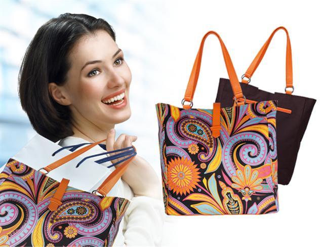 Annemin o kadar renkli, o kadar güzel bir çantası var ki gören herkes nereden aldığını soruyor...  Rahatına düşkün, pozitif, her ihtiyacını yanında taşımayı seven ve rengarenk giyinen bir anneniz mi var?  Peki siz hala Anneler Günü'nde ona ne alacağınıza karar vermediniz mi? İşte tam ona göre bir hediye...  Bu çarpıcı desenli, gösterişli çanta iki taraflı kullanılabiliyor ve geniş iç bölmesine ihtiyaç olan her şey sığıyor. Üstelik rengarenk!   Juliette Çift Taraflı Çanta 34,90 TL