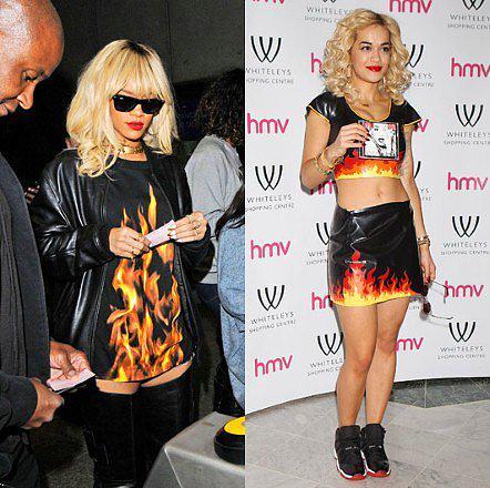 Rita Ora'nın Çakma Rihanna Olduğunun 15 Kanıtı - 2