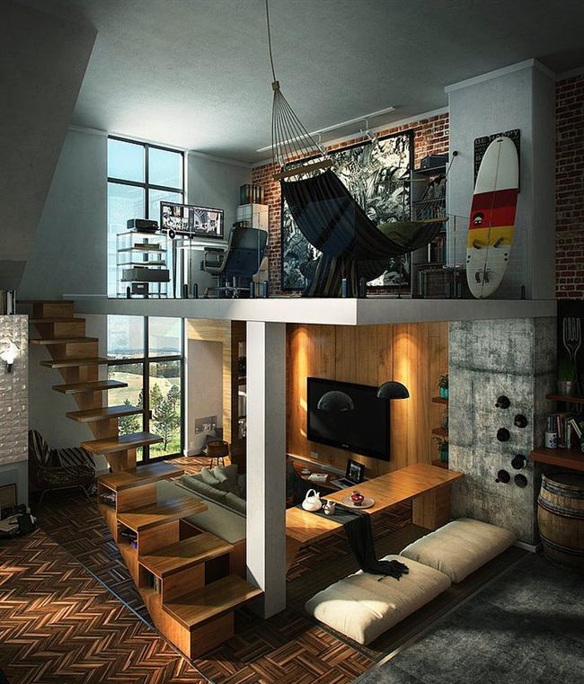 1. Hamaklı çalışma odası mı? Yok artık! :)