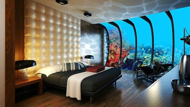 18. Yatak odanızın denizin içinde olduğunu düşündünüz mü hiç?