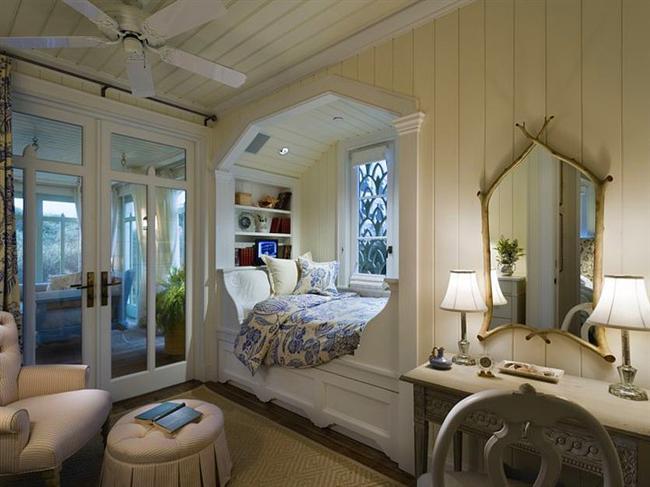21. Beyazı seven için süper bir yatak odası