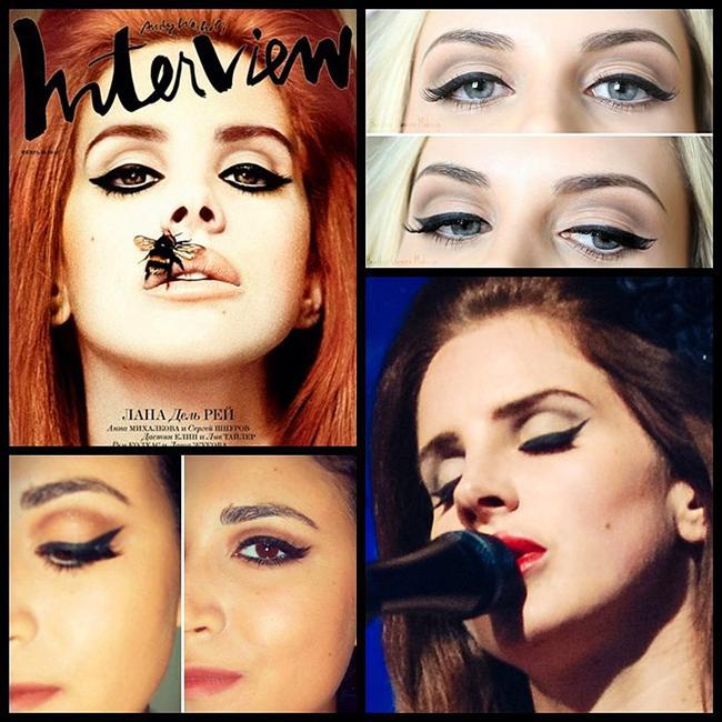 Bkz: ''Lana del Rey Eyeliner'ı Nasıl Çekilir? ''