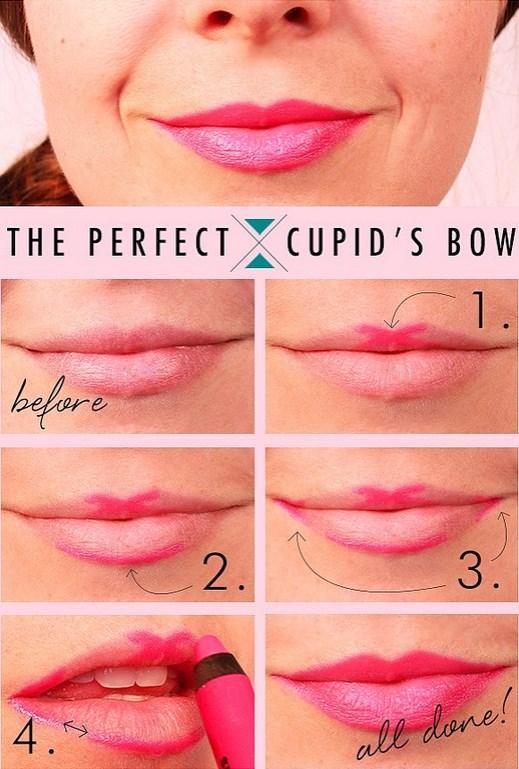5. Daha düzgün bir ruj görüntüsü için dudağına ruju bu taktikle uygula.