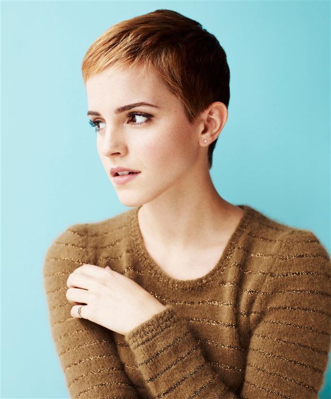 12-Harry Potter serisi bittikten sonra büyük bir değişiklik yapmak istediğinden 3 haftalık bir karar aşamasından sonra saçlarını kestirdi.